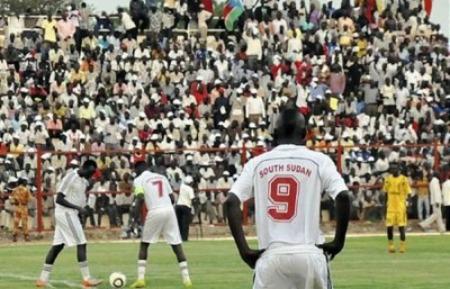 南スーダン初の親善試合に挑む