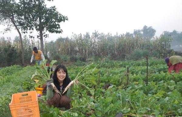 子どもの頃からの夢であった貧困地域の農村開発に挑む