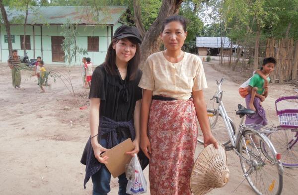 今年7月にミャンマーに渡った田崎さん