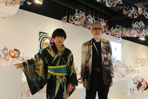 コシノ氏と矢柳氏②