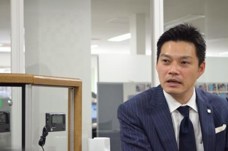 マテックスの松本浩志社長