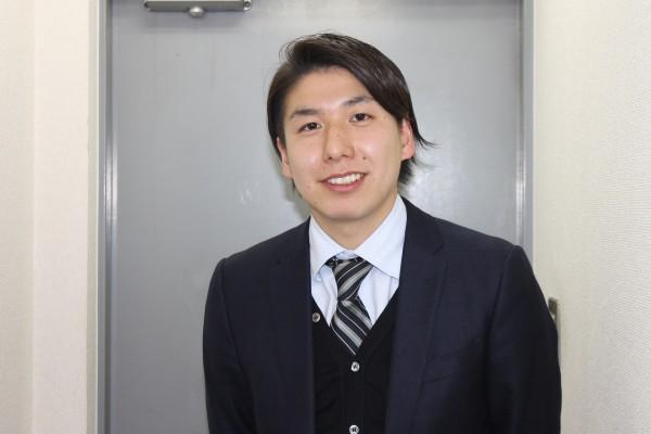 北杜市で行うオープンイノベーションの取り組みの参画者第一号となった阿部さん=11月28日、東京世田谷にあるグリーンティ本社で