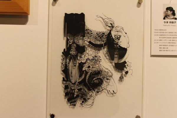 菊池さんの作品:少女と羊の夢