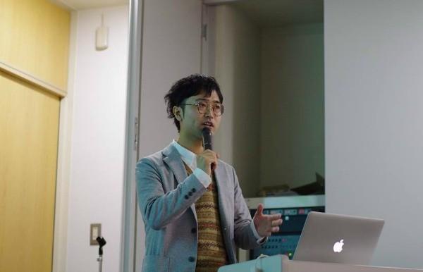 優勝した田中優樹さん。アフリカの豊さを守ることの意味を訴えた