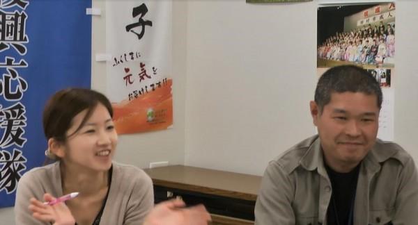 田村市復興応援隊の代表を務める、佐原さんと渡邊さん