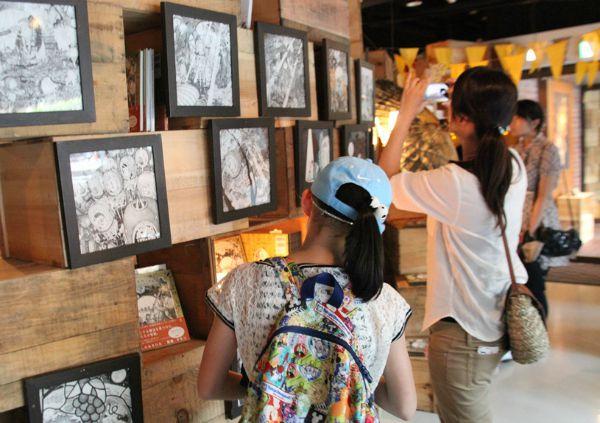 「すべての子どもに絵本を」キングコングの西野亮廣さん絵本原画展、伊藤忠青山アートスクエアで