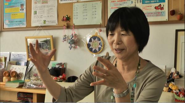 特定非営利活動法人まちづくりぜぇね理事長の小林悦子さん