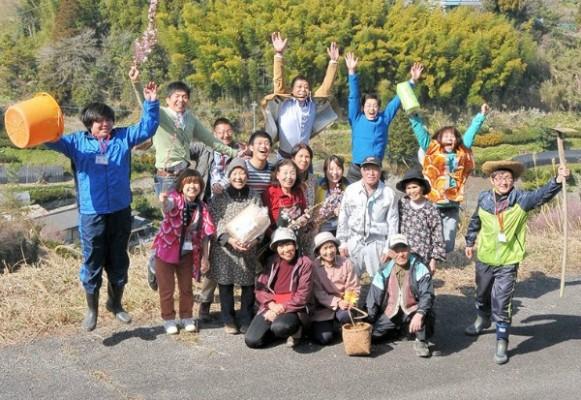 上勝町ファンが集まり、下北沢を上勝町の色に染める