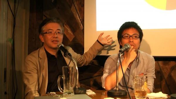 トークイベントに登壇した、NPO法人YouthCreate代表の原田さん(写真右)、(株)VoiceJapan代表取締役の高橋さん