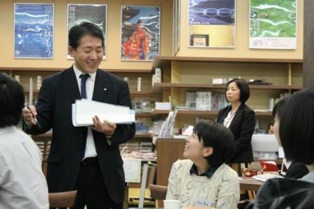 北海道から来た中村さん、地元企業の良さを学生に伝える