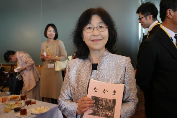 松尾さんは子どもだけでなく、大人にも本に関する勉強会を開いている