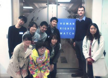 ツアーでは先進的な取り組みをするLGBT関連団体を訪れた