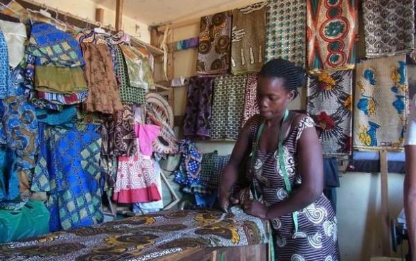 コンゴ女性