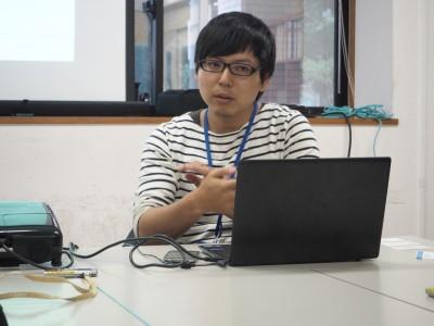 若者には言葉ではなく体験させることが響くと話す岸田侑氏(徳島市市民活力開発センター代表)