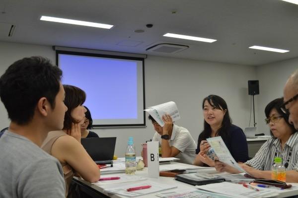 情報発信のKPI化について課題をあげたNPO法人sopa.jpの板谷氏(右奥から2番目)