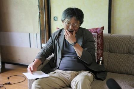 青木さんは炭鉱が衰退していった悲しみをにじませながら語ってくれた