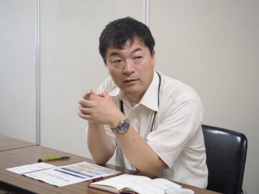 徳島県における地方創生について語る加藤貴弘氏(徳島県地方創生推進課担当)
