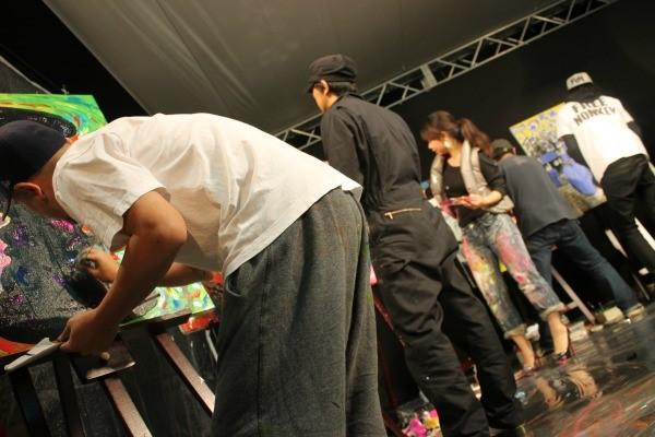各作品はモバオクで熊本支援になるオークションに出品される