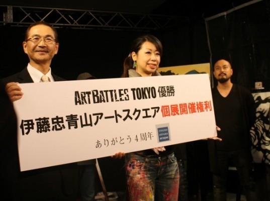 優勝したsilsilには、伊藤忠青山アートスクエアでの個展開催権利が贈られた
