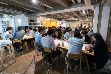 月一度開催されるkaigoカフェの様子
