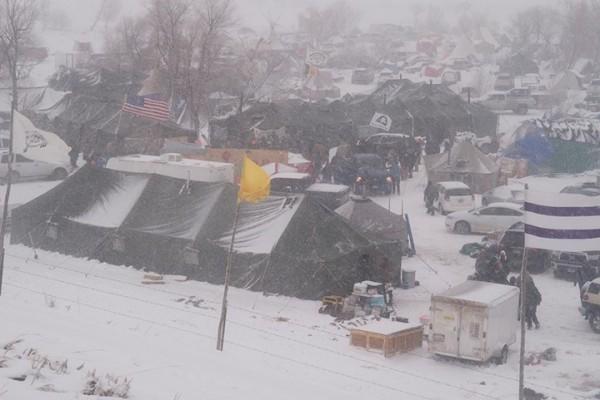 キャンプには全米中から多くの物資が寄付された